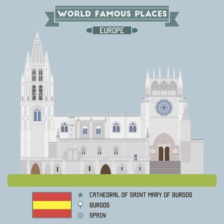saint mary: Cathedral of Saint Mary of Burgos. Spain