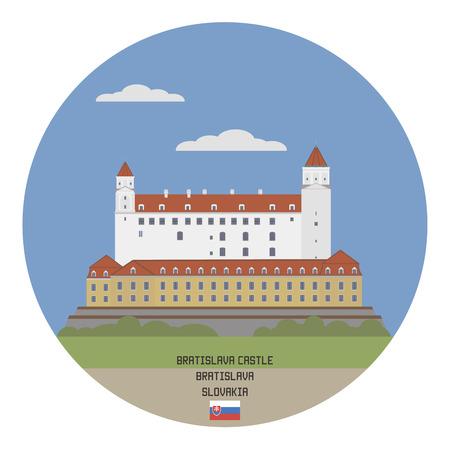 built tower: Bratislava Castle, Slovakia
