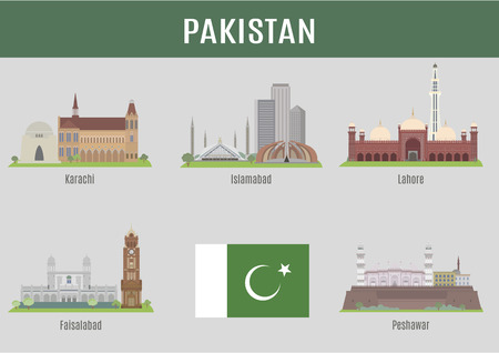 pakistan flag: Cities in Pakistan. Famous Places Turkish cities