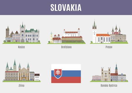 Cities in Slovakia. Famous Places Slovakia cities