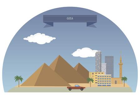 largest: Giza.Third largest city in Egypt