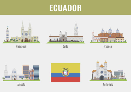 famous places: Cities in Ecuador. Famous Places Eciador cities