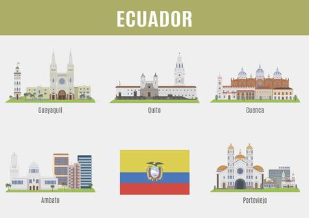 ecuador: Cities in Ecuador. Famous Places Eciador cities