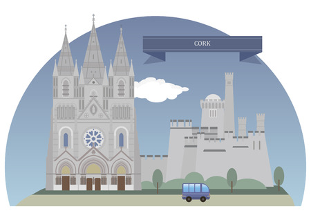 populous: Cork. Second largest city in the state and the third most populous on the island of Ireland Illustration