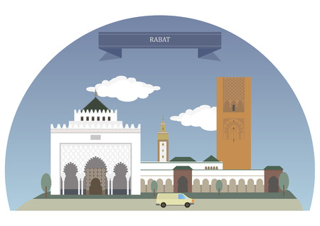 largest: Rabat, Morocco. Capital and fourth largest city of Morocco