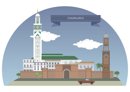 largest: Casablanca, Morocco. Largest city of Morocco, located in the western part of the country