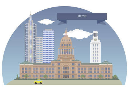 texas state: Austin. Capital of the US state of Texas