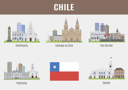 santiago: Cities in Chile. Famous Places Chilean cities