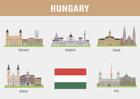 Cities in Hungary. Famous Places Hyngarian cities