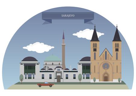 herzegovina: Sarajevo, capital and largest city of Bosnia and Herzegovina
