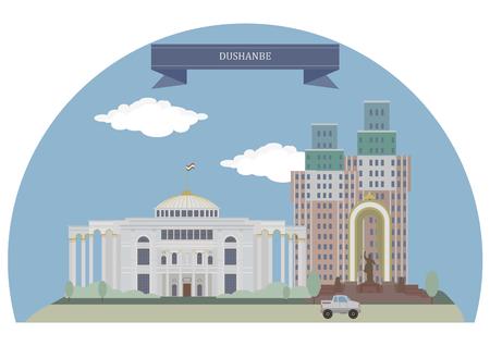 largest: Dushanbe, capital and largest city of Tajikistan