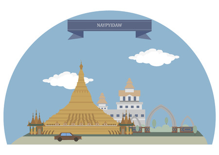 myanmar: Naypyidaw, capital city of Myanmar, also known as Burma