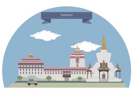 largest: Thimphu, capital and largest city of Bhutan