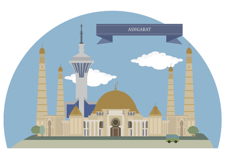 turkmenistan: Ashgabat,  capital and the largest city of Turkmenistan in Central Asia