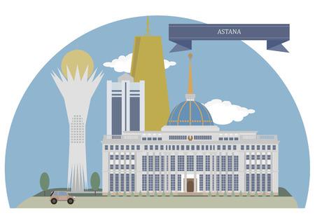 astana: Astana,  capital of Kazakhstan