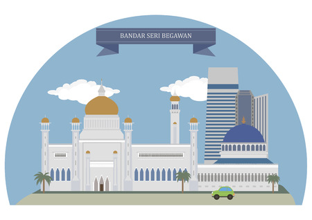 largest: Bandar Seri Begawan, capital and largest city of the Sultanate of Brunei