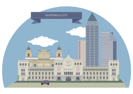 largest: Guatemala City, capital and largest city of the Republic of Guatemala
