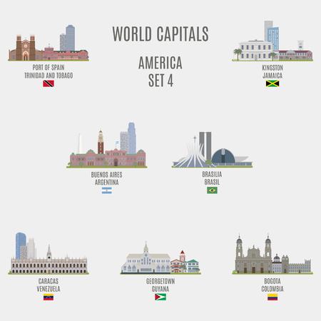 bandera de venezuela: Capitales del mundo. Lugares famosos de ciudades de Estados Unidos