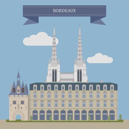 Bordeaux,  port city on the Garonne River in France