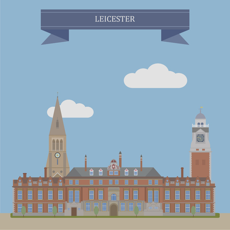 unitary: Leicester, city and unitary authority area in the East Midlands of England Illustration