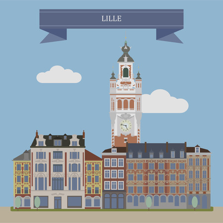 lille: Lille, city in the north of France.