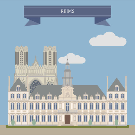 Reims, city in the Champagne-Ardenne region of Francel