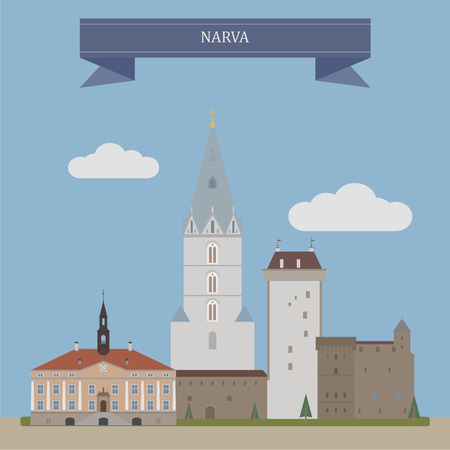 largest: Narva,third largest city in Estonia