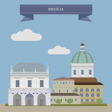 Brescia. City in the region of Lombardy in northern Italy