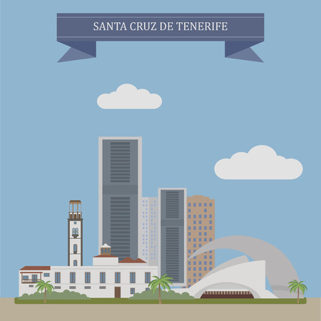 residential houses: Santa Cruz de Tenerife, city and capital of the Canary Islands, Spain