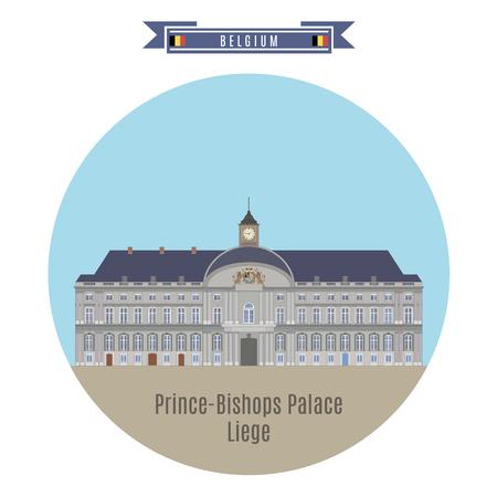 famous places: Famous Places in Belgium: Prince-Bishops Palace, Liege