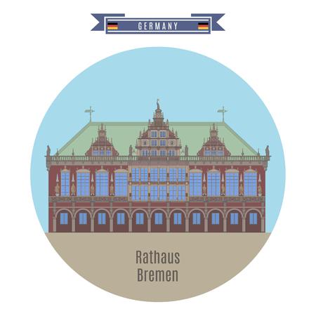 famous places: Famous Places in Germany: Rathaus, Bremen