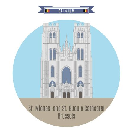 famous places: Famous Places in Belgium: St. Michael and St. Gudula Cathedral, Brussels