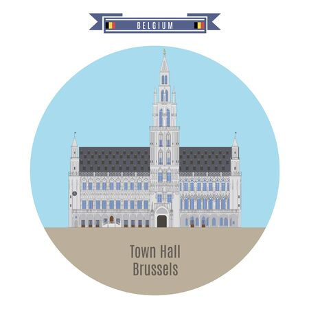 town hall: Famous Places in Belgium: Town Hall, Brussels