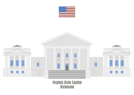 Virginia State Capitol in Richmond, United States