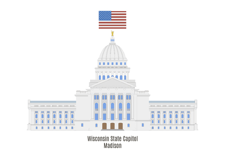 Wisconsin State Capitol in Madison, United States
