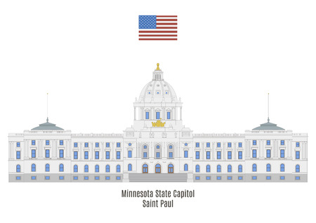 american cities: Minnesota State Capitol, Saint Paul, United States of America