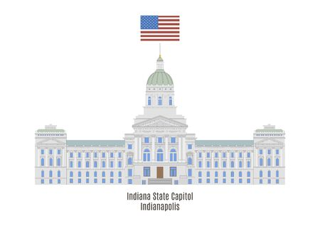 american cities: Indiana State House, Indianapolis, United States of America