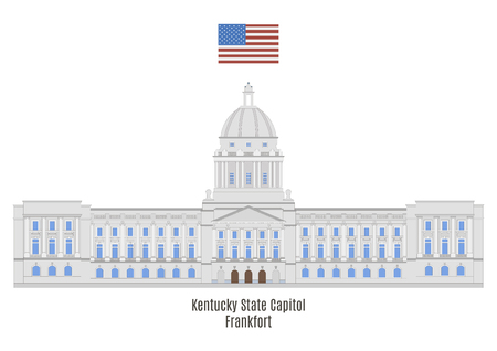 american cities: Kentucky State Capitol, Frankfort, United States of America