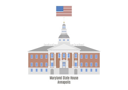 senate: Maryland State House in Annapolis, United States of America