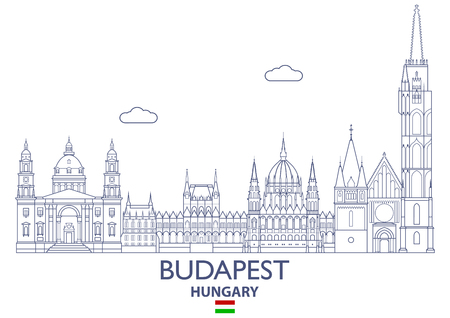 Budapest Linear City Skyline, Hungary