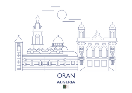 Oran Linear City Skyline, Algeria