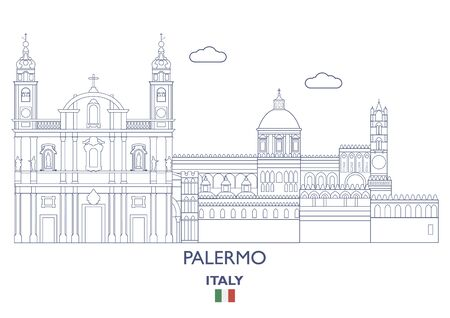 Palermo Linear City Skyline, Italy