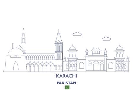 Karachi Linear City Skyline, Pakistan
