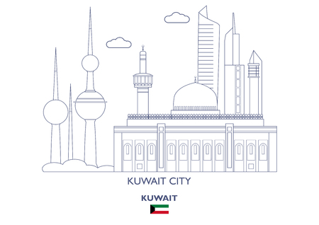 Kuwait City Linear Skyline, Kuwait