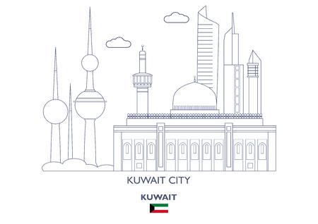Kuwait City Linear Skyline, Kuwait