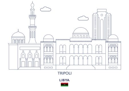 Tripoli Linear City Skyline, Libya