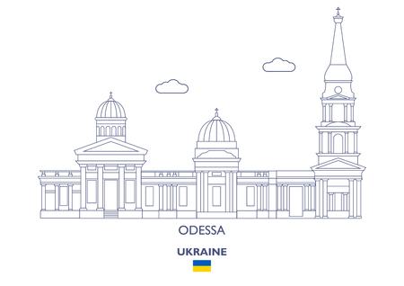 Odessa Linear City Skyline, Ukraine