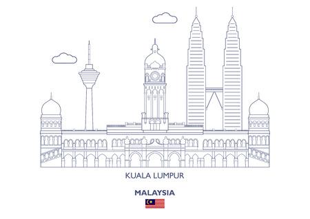 Kuala Lumpur Linear City Skyline, Malaysia