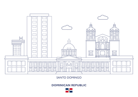 Santo Domingo Linear City Skyline, Dominican Republic