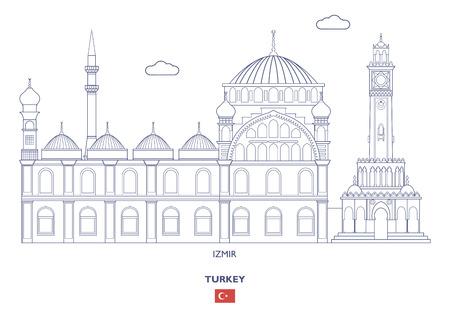 Izmir Linear City Skyline, Turkey